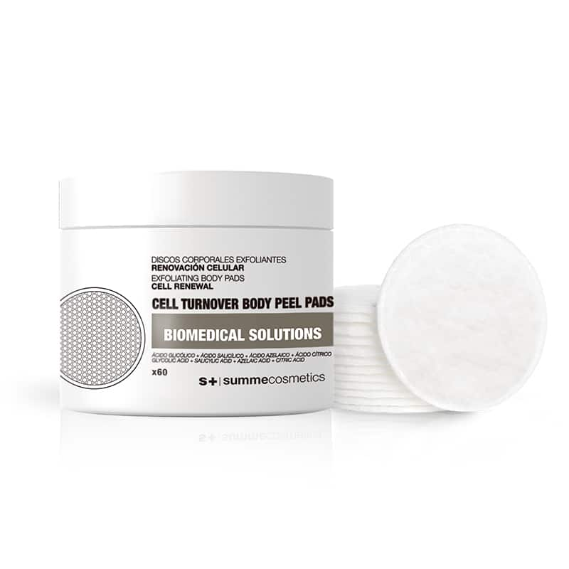 cell turnover body peel pads